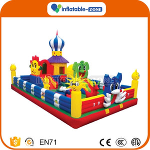 snake inflatable fun city,inflatable snake fun city,inflatable toboggan slide