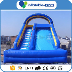 water inflatable slide,inflatable slide dry slide,amusement inflatable slide