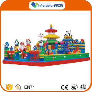 bouncy castle with slide,2011 inflatable fun city,inflatable fun city game