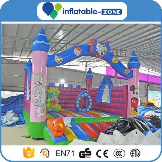 mini jumping castle,minions bounce house,inflatable aqua park
