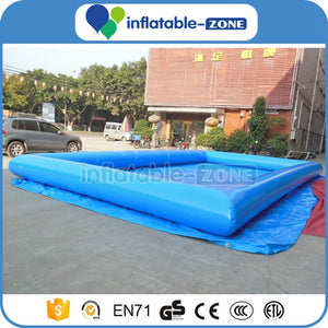 water walking ball pool,red inflatable pool toys,8m inflatable water pool