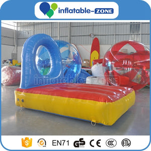 Inflatable fish leaping over hole, inflatable sports game Inflatable Zone TM
