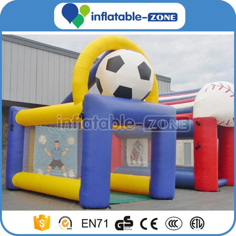 Inflatable soccer shooting goal, inflatable sports game Inflatable Zone TM