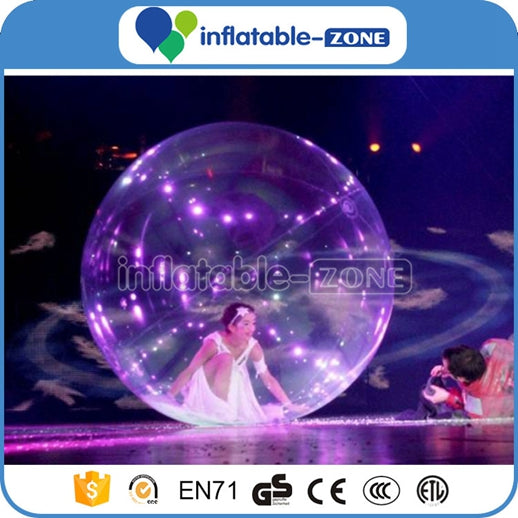 Inflatable transparent color walking on floor dancing ball Inflatable Zone TM