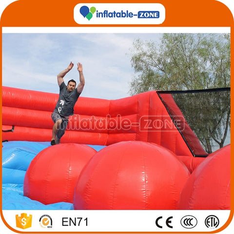 New product inflatable wipeout games, inflatable sports game Inflatable Zone TM
