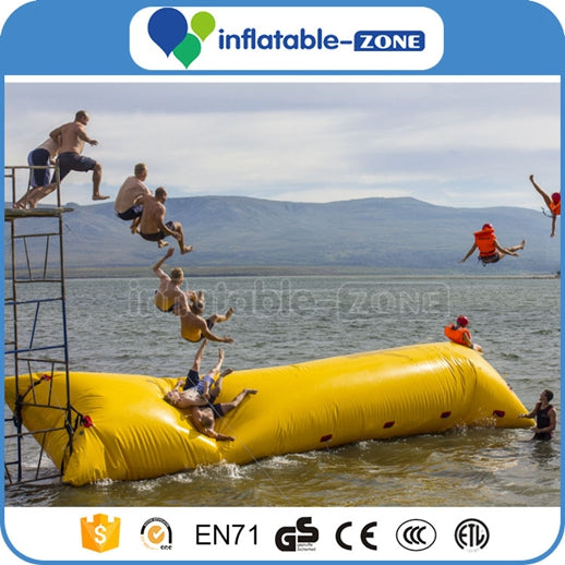 amusement inflatable water catapult, water game Inflatable Zone TM