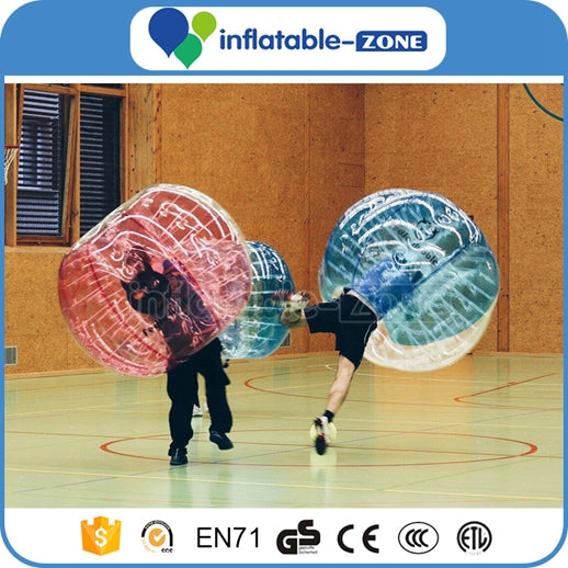inflatable bubble sports,soccer with bubble suits,loopyballs bubble soccer