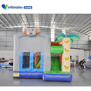 Bounce house combos for sale bouncy castle inflatable free logo