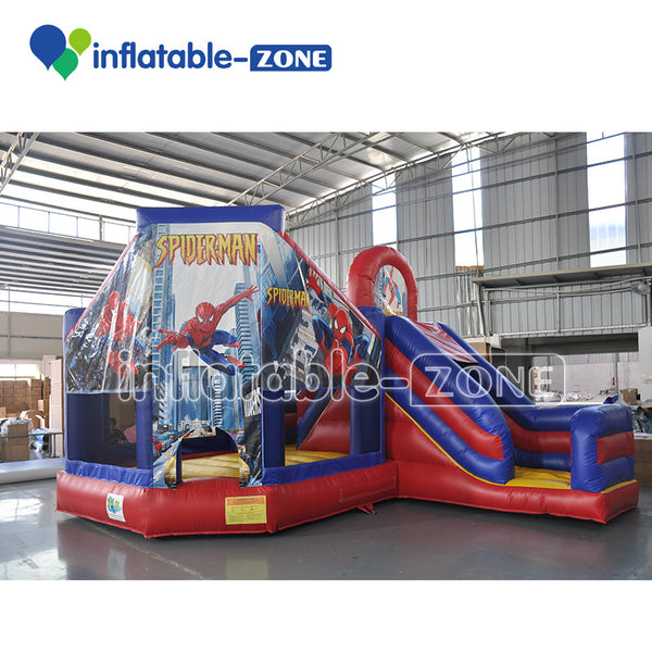 Tropical combo bounce house inflatable bouncy castle rental amazing