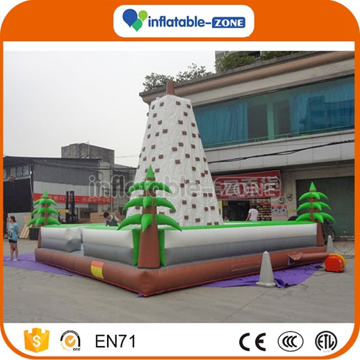 Factory price inflatable climbing tower shaped inflatable climbing wall Inflatable Zone TM