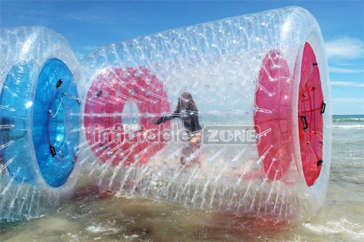 Super quality inflatable water roller for pool inflatable water walking roller for water playground Inflatable Zone TM
