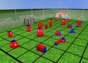 Bundle archery dodgeball,archery bunker tag singapore,paintball bunkers