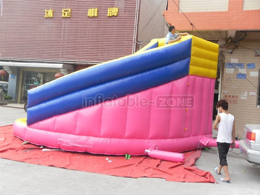 inflatable slide city,inflatable ball slide,inflatable blue slide