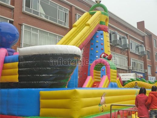 inflatable boots slide,inflatable plane slide,used slide inflatables
