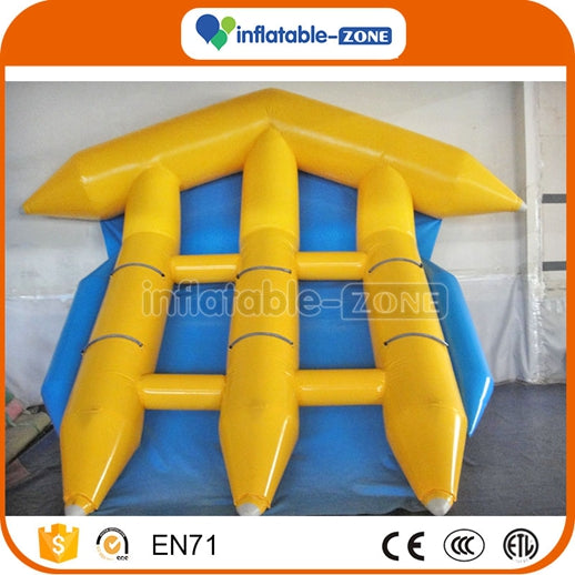 6 persons PVC Tarpaulin Inflatable Flyfish Boat - Cute Inflatable Fly Fish Inflatable Zone TM