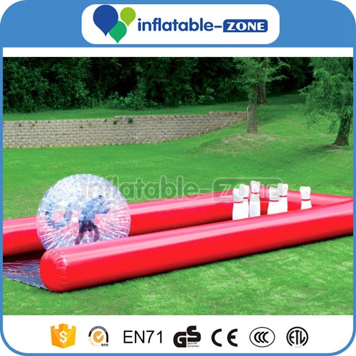 Cheap price Durable 0.55mm PVC Tarpaulin Inflatable Zorb Ball Track