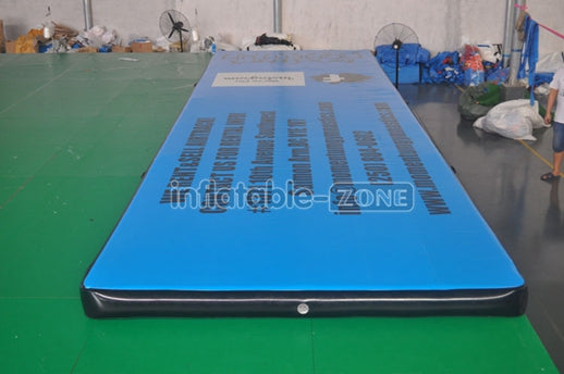 trampoine inflatable air trac,inflatable tumbling gym track,portable inflatable air track