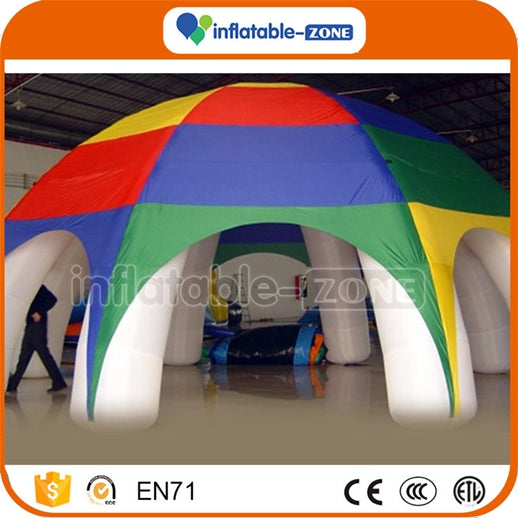 Factory Supply red inflatables tent 8 legs inflatable tent Inflatable Zone TM