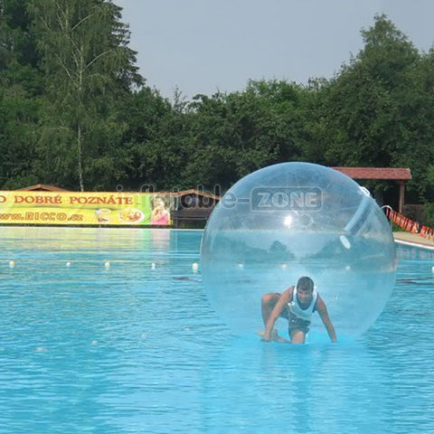 Free shipping 2 pieces 2.5m water balls with a pump for free
