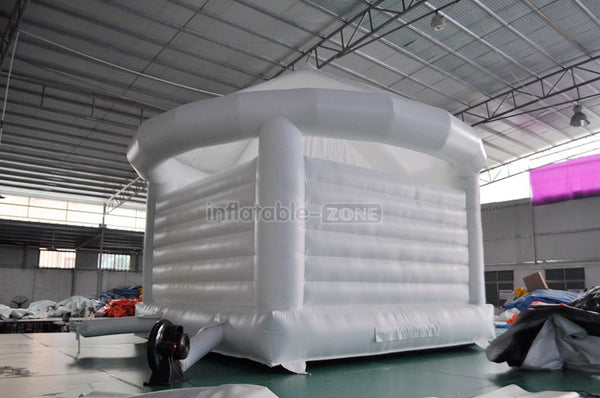White Inflatable castle  wedding  inflatable bouncer jumping castle house wholesale price