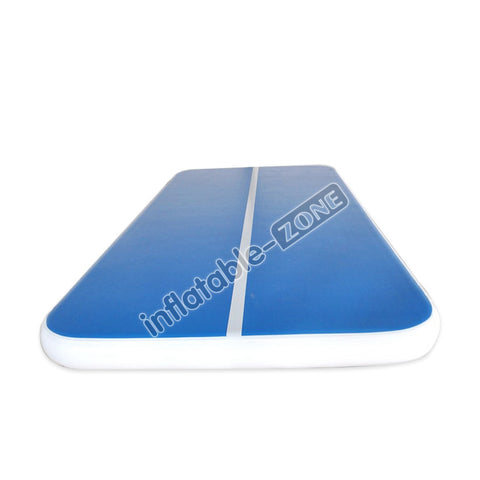 Wholesale blue-white lane airtrack pool float for adults