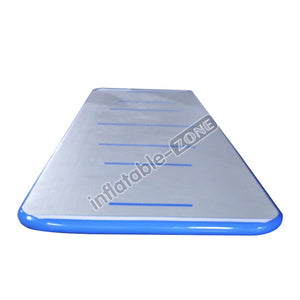 Good gray-blue seven horizontal lines airtrack pool mat for sale