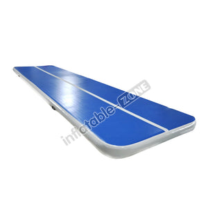 Amazing blue-white lane water airtrack wholesale with best quality