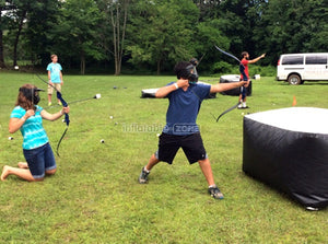 Play archery tag, archery tag equipment supplier