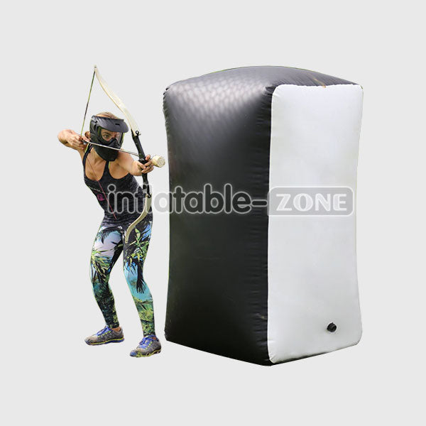 Free Shipping, Buy Inflatable Zone 1.65*1.1*0.6m Inflatable Archery Bunker Tag