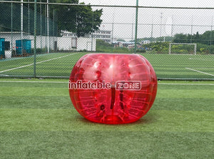 Top quality bubble ball soccer for rent in low price