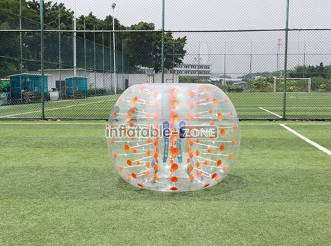 Buy soccer in a bubble on sale in factory here and now