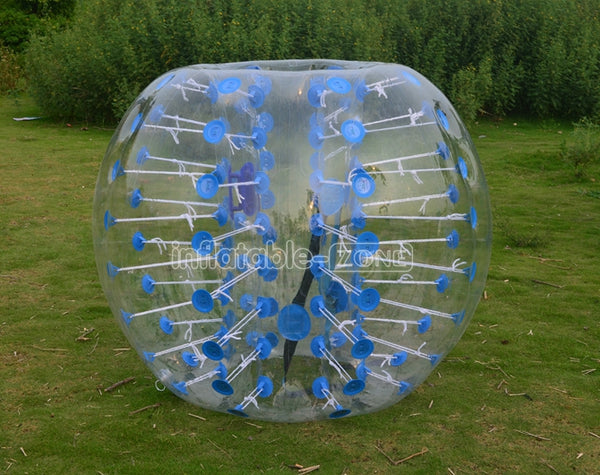 Wholesale price 1.5 battle ball for sale,buy bubble football price-blue dot