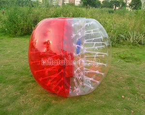 Free shipping 1.5m wholesale price bumper ball,human bumper balls for sale-red