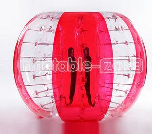 Free Shipping 1.5m buble foot,bubble ball game,bumper soccer-red flower