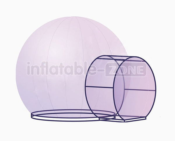 Buy Inflatable Bubble Tent House Dome Outdoor Clear Show Room with 1 Tunnel for Commercial