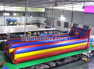 Fantastic quality lane bungee run, inflatable bungee run for sale here and now