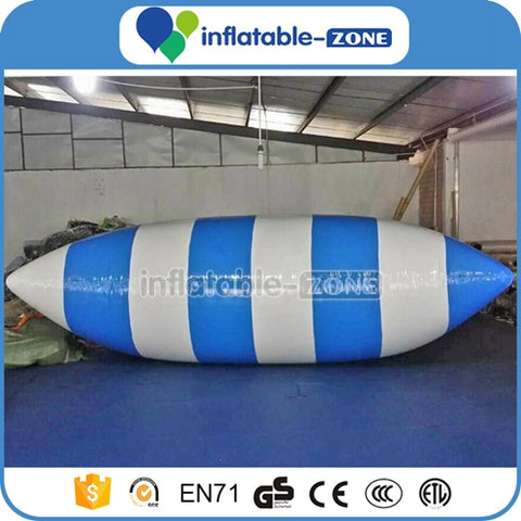 Free shipping Inflatable water pillow air bag, long pillow giant inflatable crazy water air