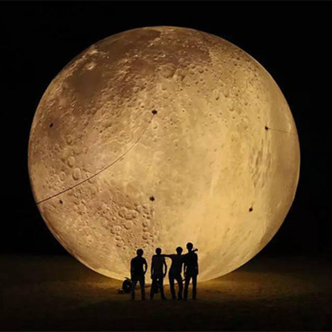 Free shipping, Inflatable LED Lighting Moon for Sale Advertising