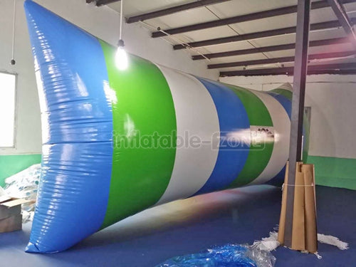 Inflatable Zone TM Lake inflatable water pillow inflatable water launch for tower