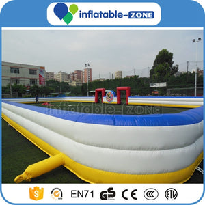 soccer arena double layer,inflatable football field soccer field,inflatable football court