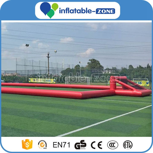 inflatable football field,Inflatable Football pitch,inflatable football court with four goals
