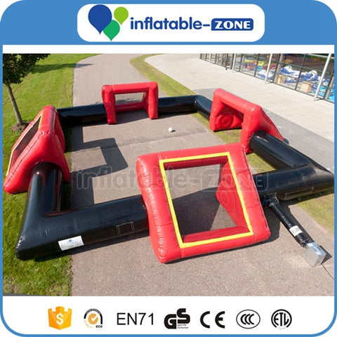 portable indoor inflatable football field,Giant football field,big inflatable soccer field