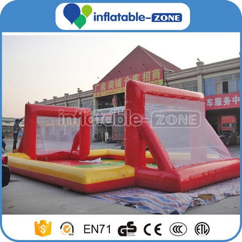 inflatable water football field for kids,inflatable water soccer football pitch court,inflatable water soccer pitch
