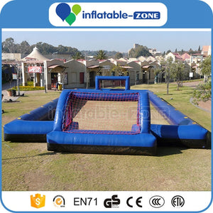 Inflatable soap football field goals,inflatable football field,soccer ball field