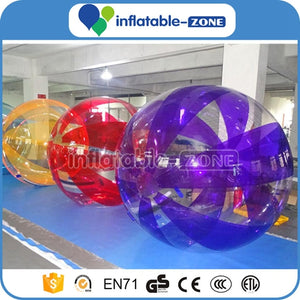 Beautiful Color hamster ball for people  waboba water ball  ball on water  invisible water balls  ball that skips on water  bubble walk