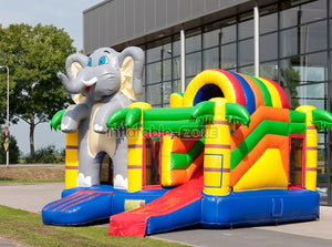 New gray elephant inflatable bouncers wholesale,inflatable bouncer rentals outdoor games