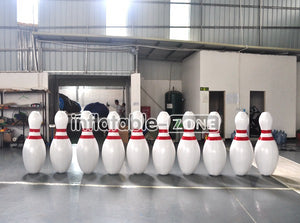 Great quality 1.5m inflatable human bowling pin for sale in low price right now