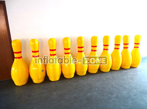 Inflatable bowling set,play giant inflatable bowling