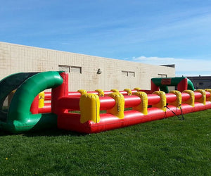 Life Size Inflatable Foosball Arena For Team Play Party Game