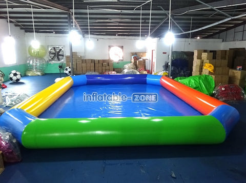 Good quality inflatable pool for sale in factory
